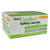 Allison Medical SureComfort Safety Lancets