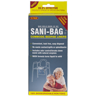 Sani Bag-Plus by Cleanwaste Commode Liners