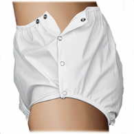 Essential Medical C6001 Quik Sorb Snap Closure Incontinent Pants