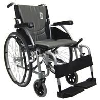 Karman S-Ergo 115 Ultra Lightweight Wheelchair w/ Swing Away Footrest