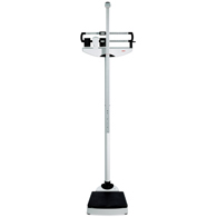 Seca 700 500 lb Capacity Scale with Wheels & Height Rod (7001121993)